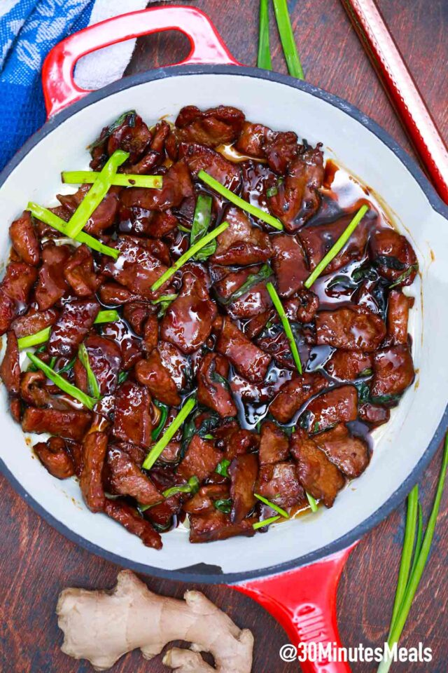 easy low carb mongolian beef