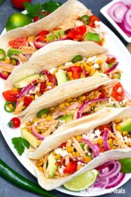 Rotisserie Chicken Tacos Recipe