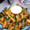 homemade air fryer zucchini fries recipe