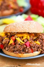 easy bbq sloppy joes
