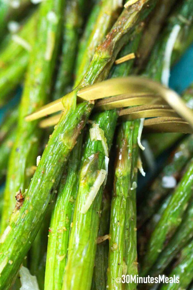 easy best air fryer asparagus