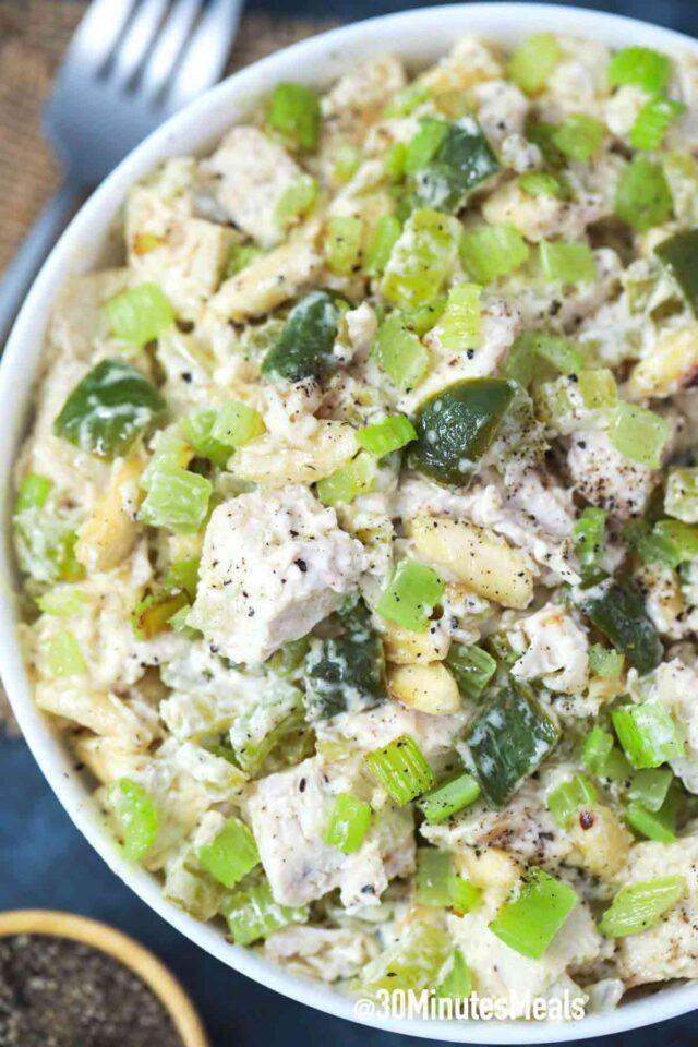 easy hot chicken salad recipe