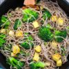easy sesame noodles with tofu