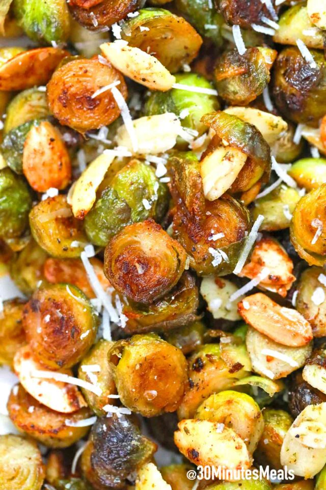 easy parmesan brussel sprouts recipe