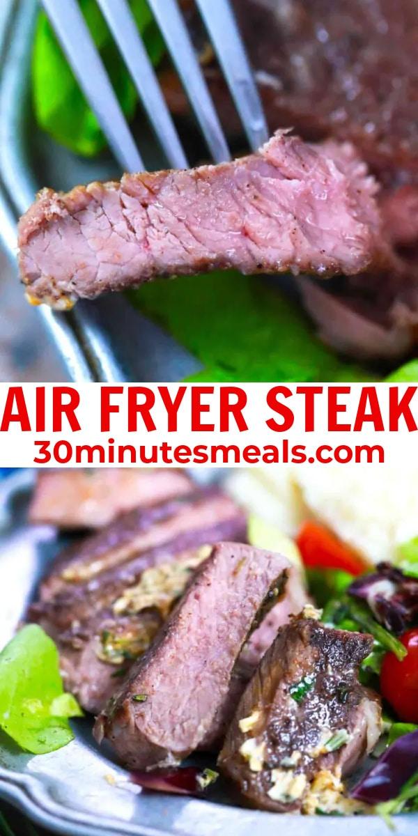 easy air fryer steak pin