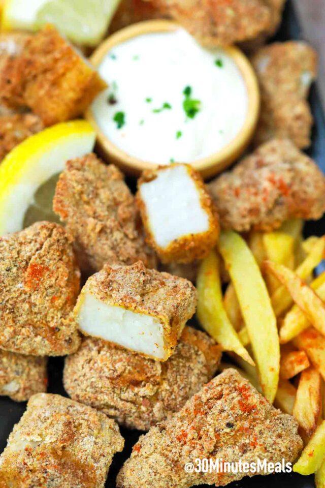easy air fried fish sticks recipe