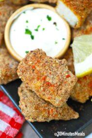 easy air fryer fish sticks recipe