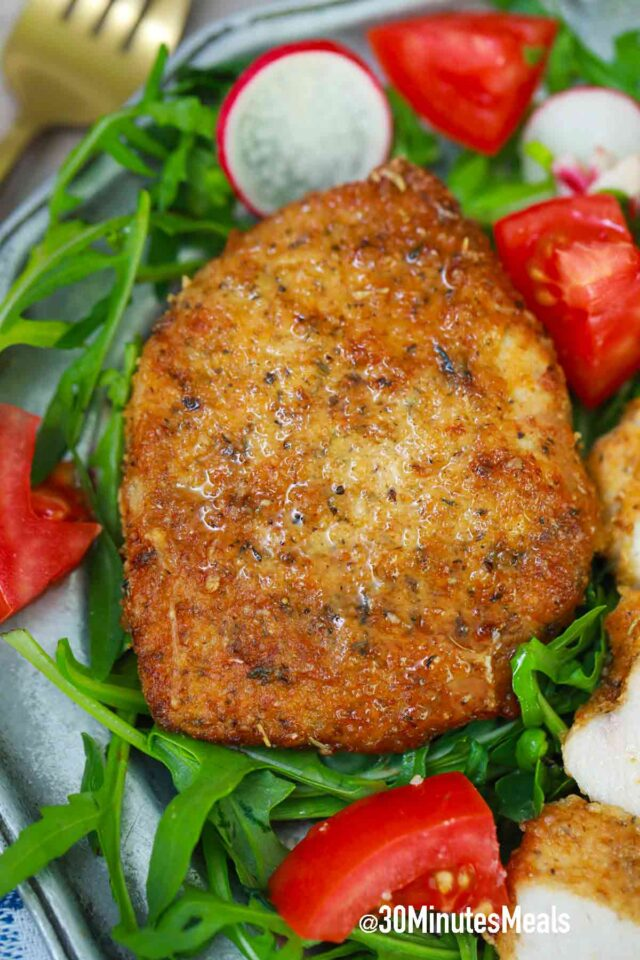 air fried pork chop