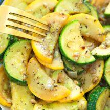 Sauteed Squash and Zucchini Recipe