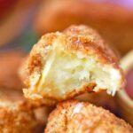 air fried apple fry interior