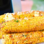 air fryer corn on the cob with butter