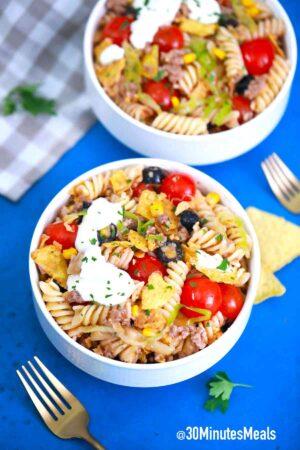 Taco Pasta Salad Recipe