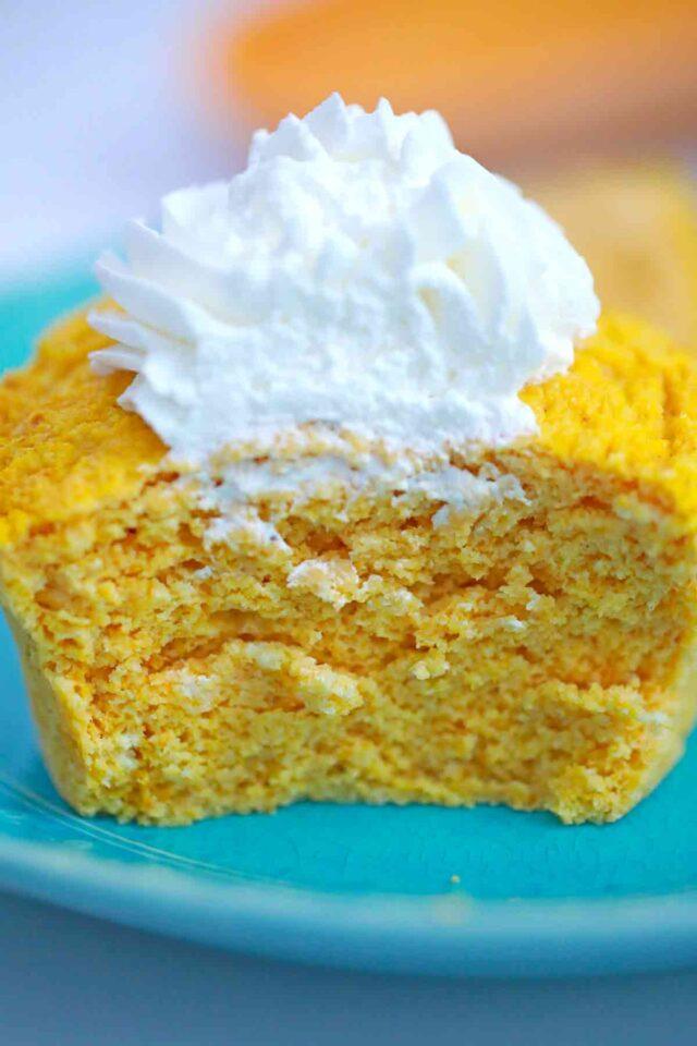 single-serve pumpkin mug cake