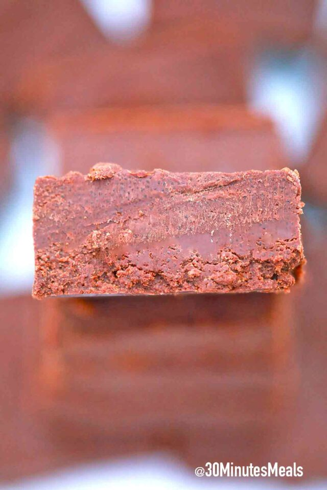 chocolate fudge square